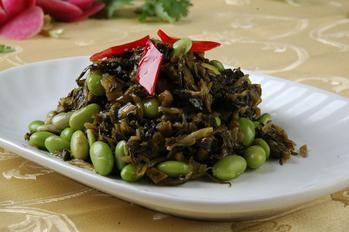 12189号菜图列表上海菜菜谱上海菜大蒜过量生吃菜单图片